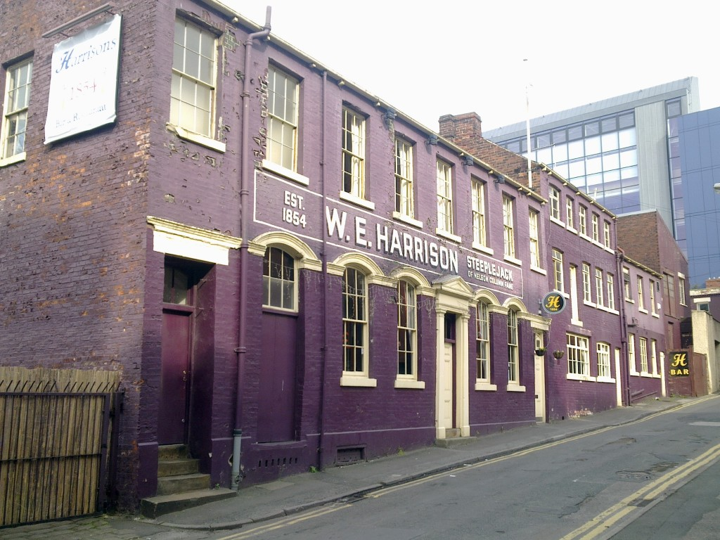 Harrisons 1854 - our latest Sheffield meetup venue